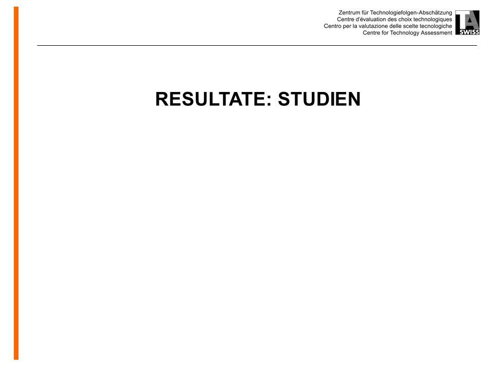www.oeko.de RESULTATE: STUDIEN