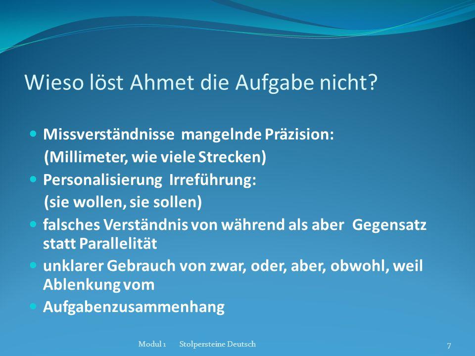 Lautung und Artikulation Konsonantenhäufung (z.B.