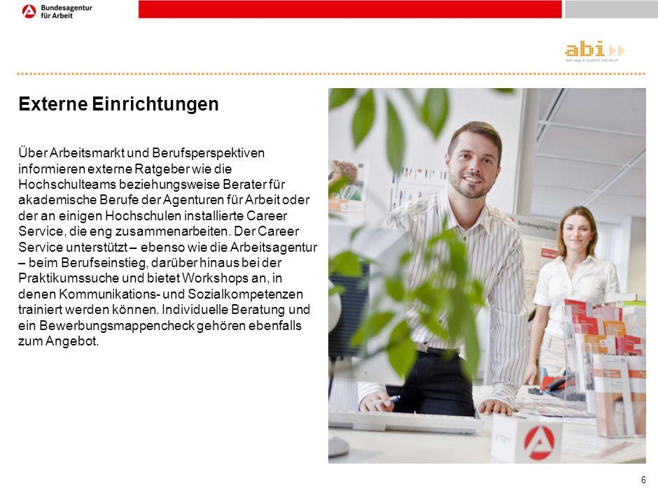 5 Studentenwerk Die 58 deutschen Studentenwerke beraten zu finanziellen, sozialen und psychologischen Fragen. Weil fünf Prozent aller deutschen Studie