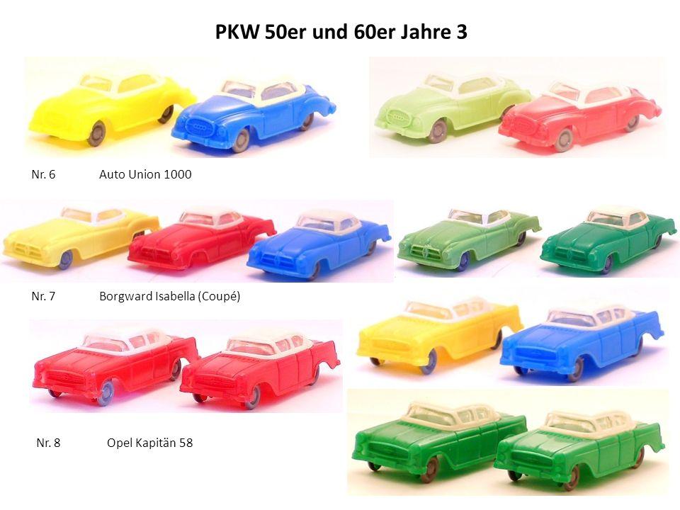 PKW 50er und 60er Jahre 3 Nr.6 Auto Union 1000 Nr.