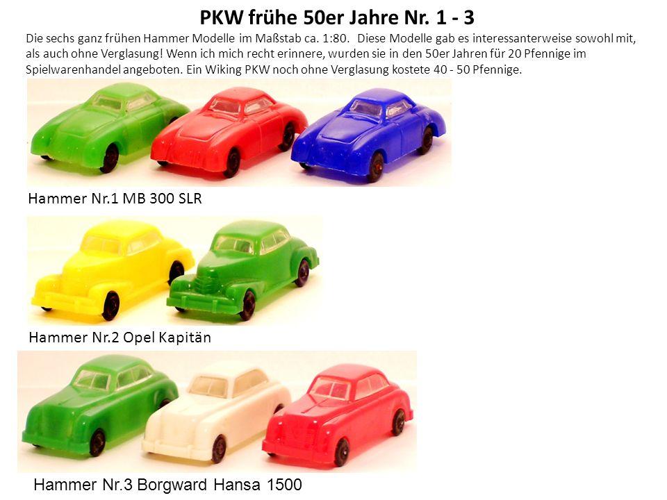 VW T1 Bus VW Bus und Transporter waren für Hammer ein gutes Geschäft, da sie sich besonders gut als Werbebeipack eigneten.