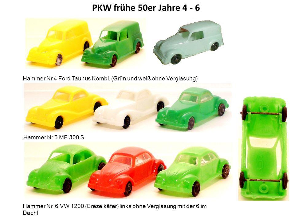 VW T 1 Transporter Miele hatte wohl recht hohe Stückzahlen bei Hammer geordert.