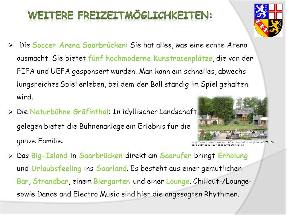 Die Soccer Arena Saarbrücken: Sie hat alles, was eine echte Arena ausmacht. Sie bietet fünf hochmoderne Kunstrasenplätze, die von der FIFA und UEFA ge