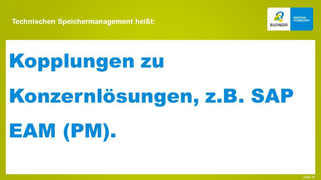 Technischen Speichermanagement heißt: Seite 19 Integration der Fahrwegsteuerung.