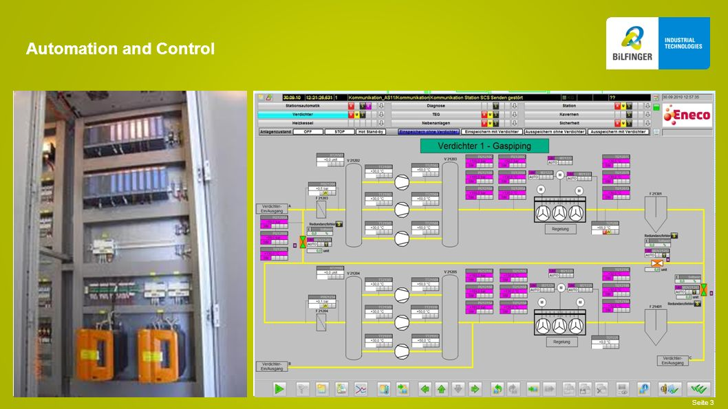 Automation and Control Seite 3
