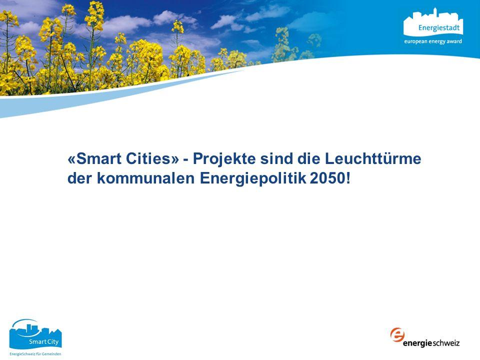 «Smart Cities» - Projekte sind die Leuchttürme der kommunalen Energiepolitik 2050!