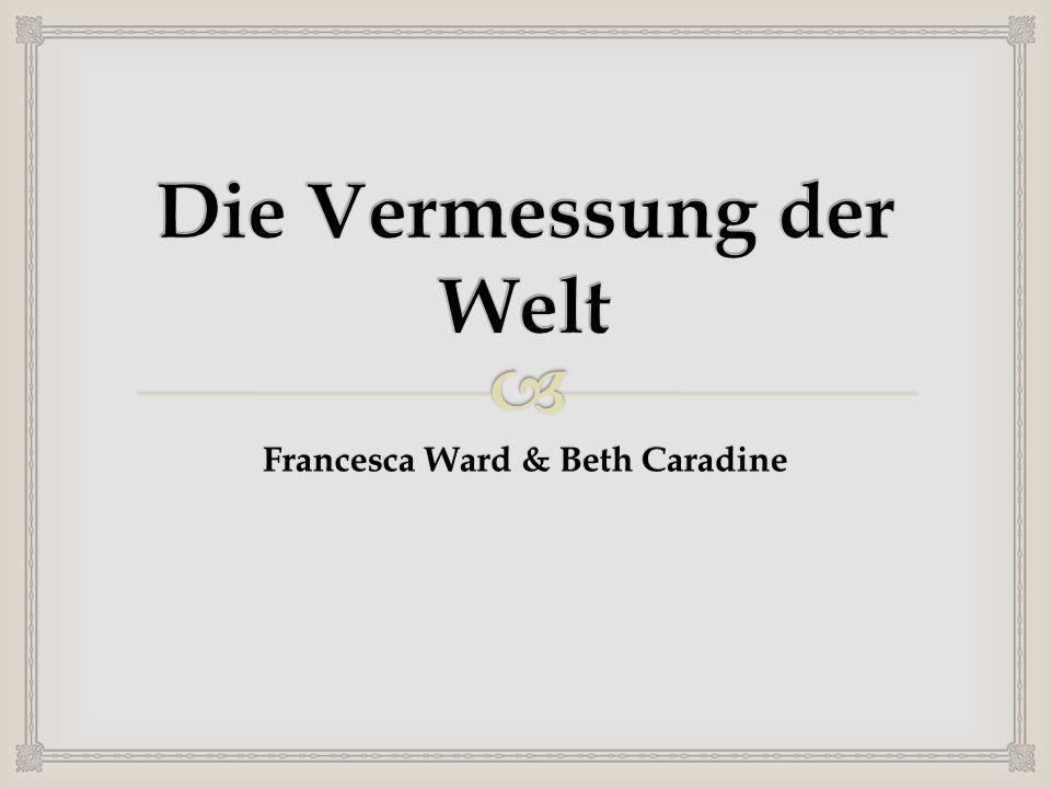 Francesca Ward & Beth Caradine