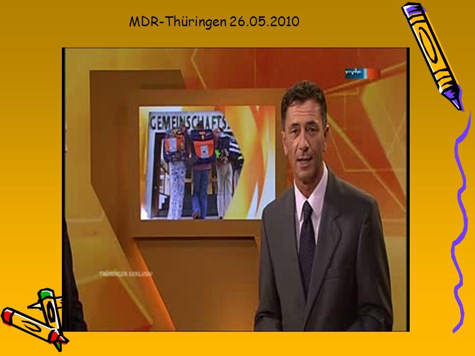MDR-Thüringen 26.05.2010