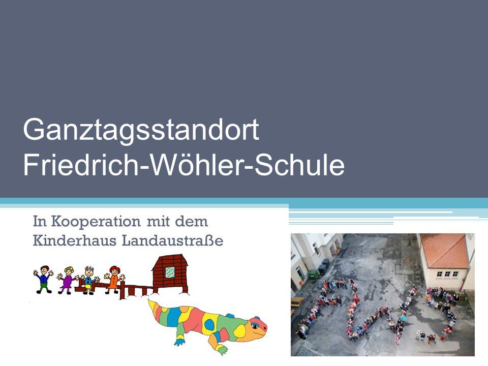 Ganztagsstandort Friedrich-Wöhler-Schule noch verbundene Grund-, Haupt- und Realschule mit flexiblem Schulanfang zweizügig in der Grundschule ca.