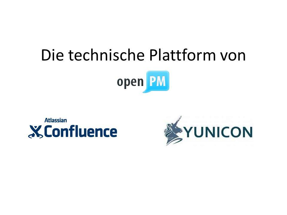 Die technische Plattform von