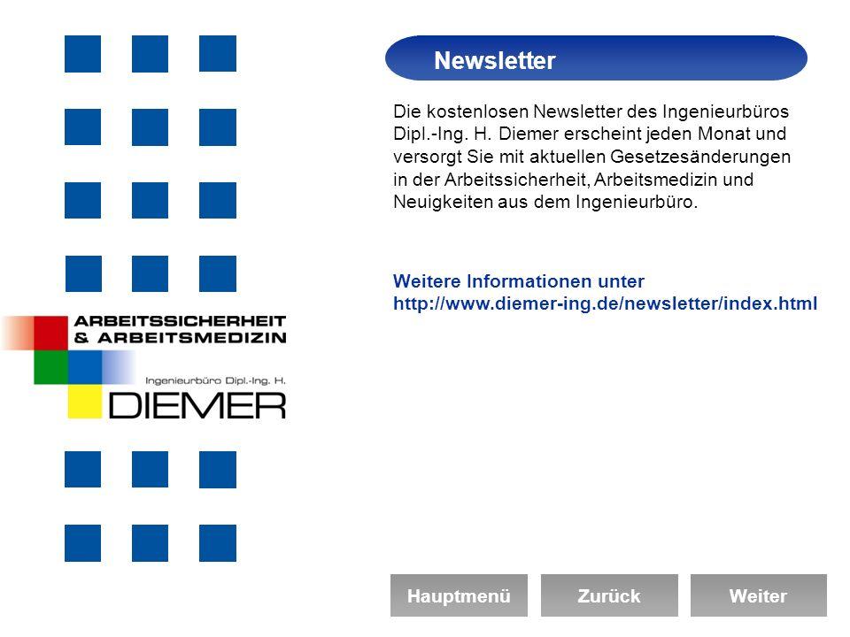 Die kostenlosen Newsletter des Ingenieurbüros Dipl.-Ing.
