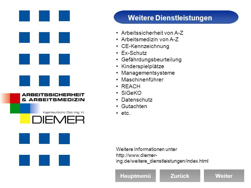 Das Unternehmen Arbeitssicherheit & Arbeitsmedizin Ingenieurbüro Dipl.-Ing.