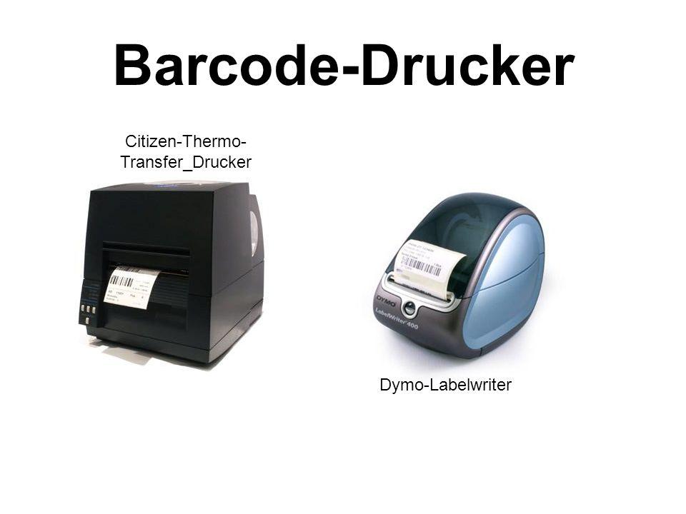 Barcode-Drucker Citizen-Thermo- Transfer_Drucker Dymo-Labelwriter