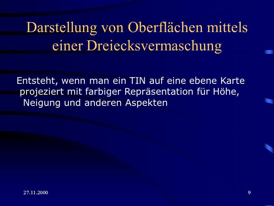 27.11.200020 Richtung des Gefälles und einfarbige Nodes 1.