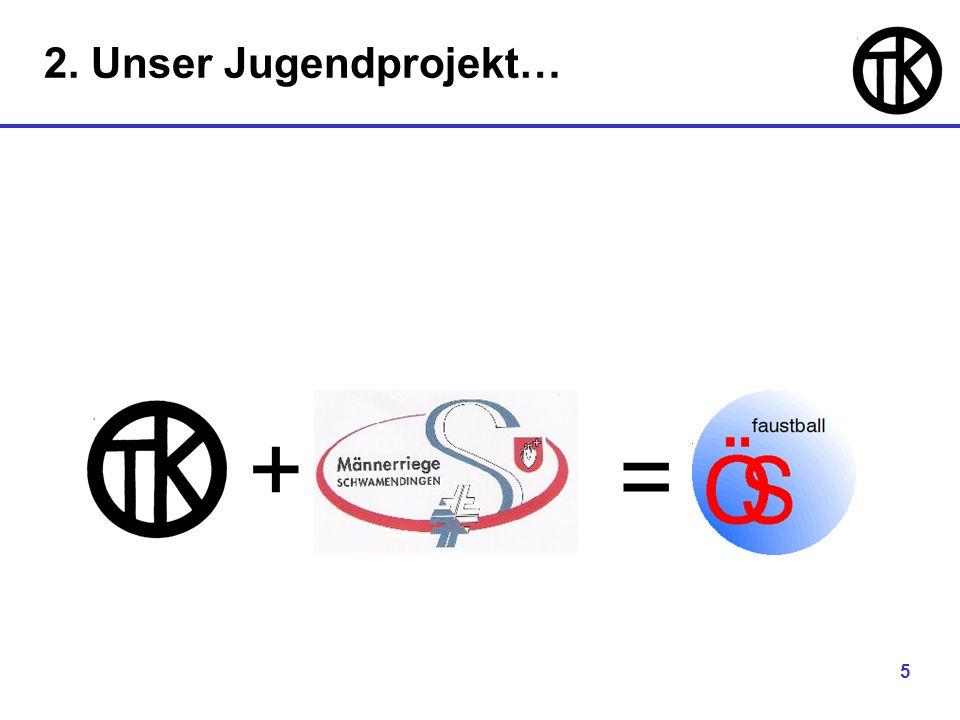 5 + = 2. Unser Jugendprojekt…