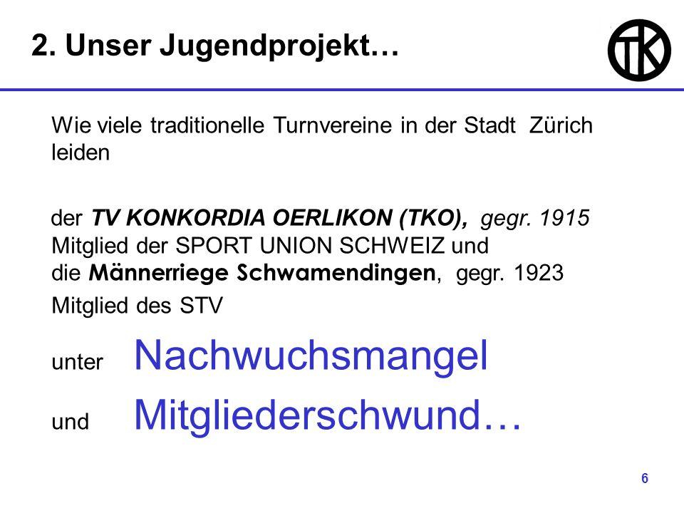 7 Mitglieder beider Vereine in Zürich-Nord haben sich dem FAUSTBALL - Sport verschrieben und beteiligen sich mit Mannschaften in der 4.