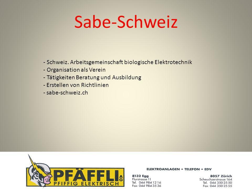 Sabe-Schweiz - Schweiz.