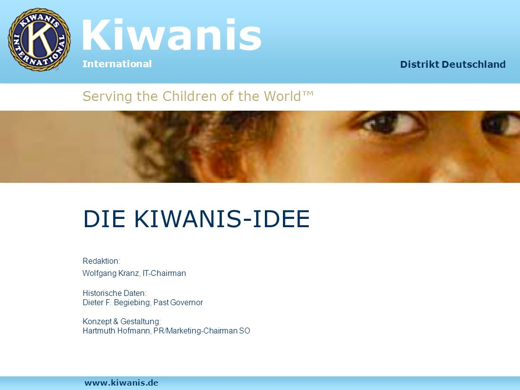 Kiwanis International Inhalt Distrikt Deutschland Die Kiwanis-Idee Service-Clubs im Vergleich Kiwanis - was heißt das.