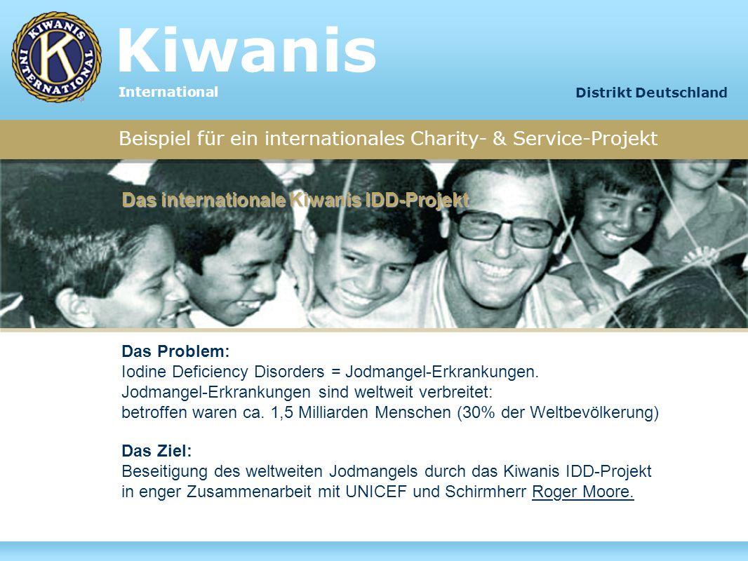 Beispiel für ein internationales Charity- & Service-Projekt Das Problem: Iodine Deficiency Disorders = Jodmangel-Erkrankungen. Jodmangel-Erkrankungen