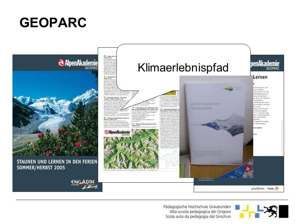 Virtueller Klimaweg EducETH (ab2008): Virtueller Klimaweg