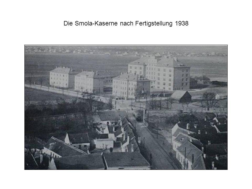 Die Smola-Kaserne nach Fertigstellung 1938