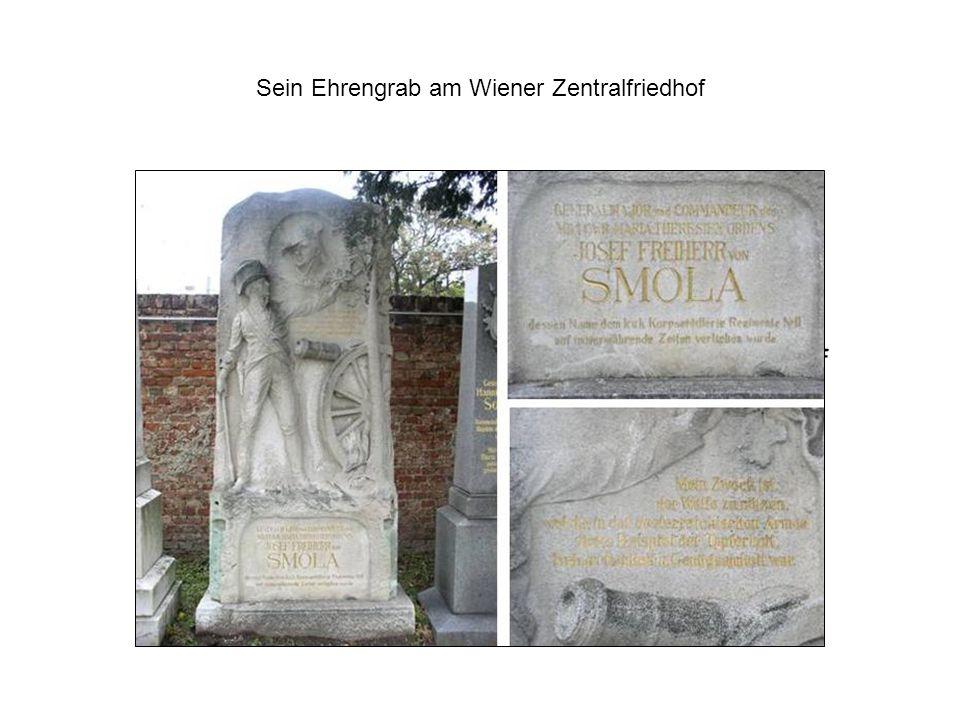 Sein Ehrengrab am Wiener Zentralfriedhof