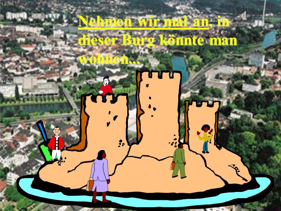 Attac Saar13 Nehmen wir mal an, in dieser Burg könnte man wohnen...
