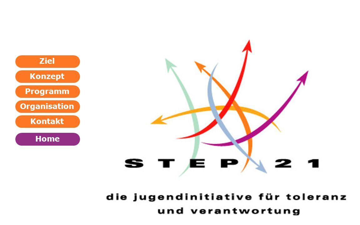 Programm Organisation Kontakt Konzept Ziel Home WEITER ZURÜCK Der bewusste Schritt ins 21.