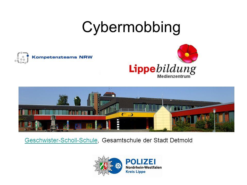 Cybermobbing Geschwister-Scholl-SchuleGeschwister-Scholl-Schule, Gesamtschule der Stadt Detmold