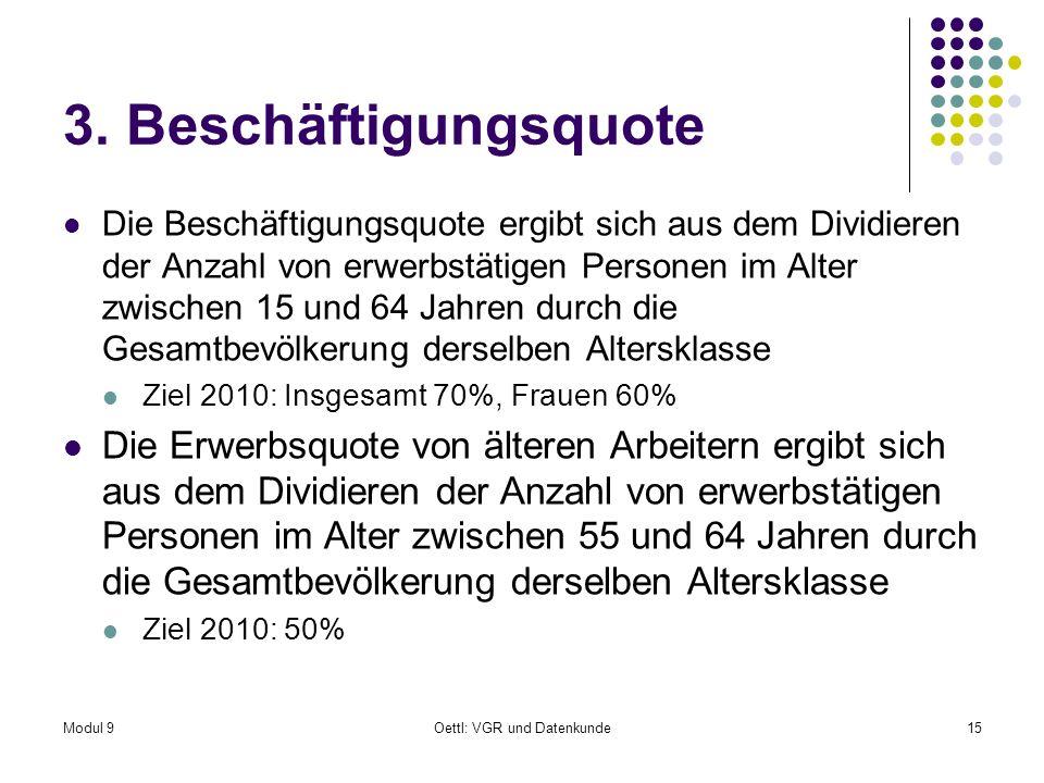 Modul 9Oettl: VGR und Datenkunde15 3.