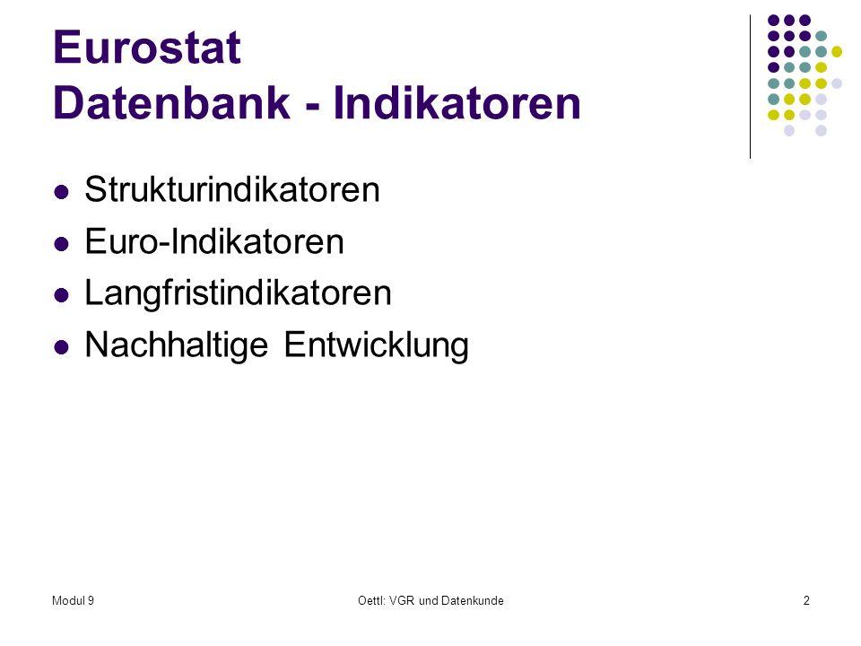 Modul 9Oettl: VGR und Datenkunde43 11.
