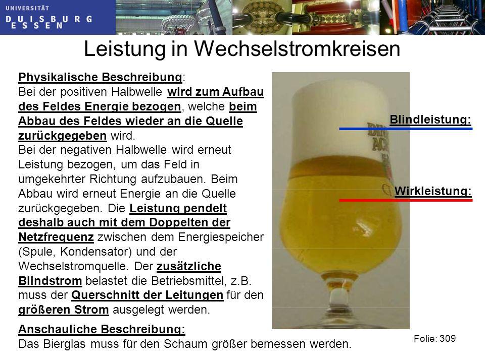 Anschauliche Beschreibung: Das Bierglas muss für den Schaum größer bemessen werden.