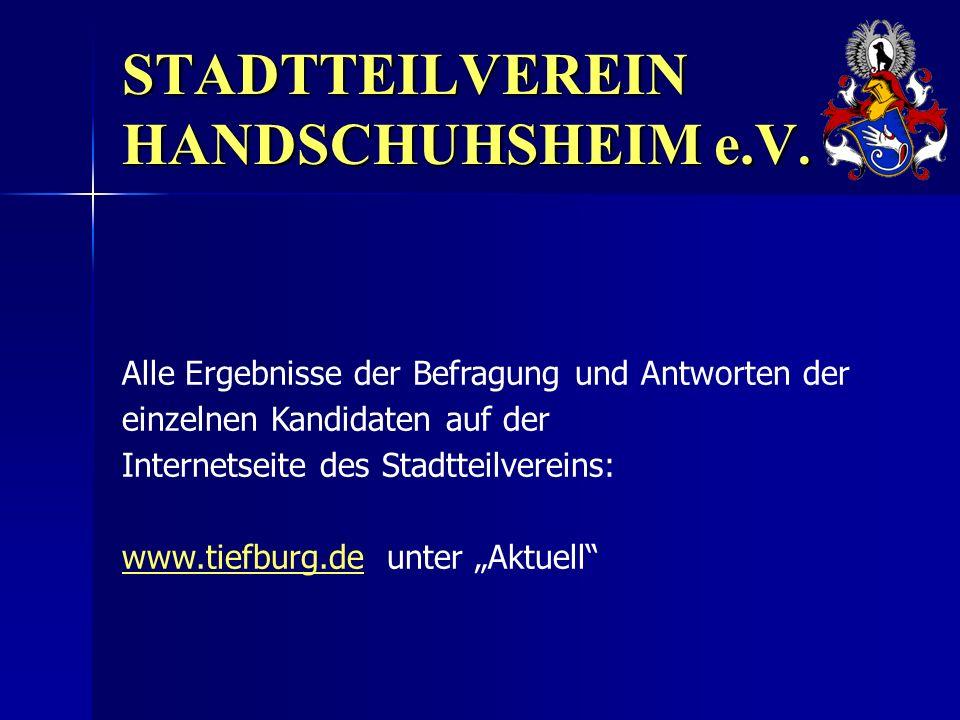 STADTTEILVEREIN HANDSCHUHSHEIM e.V.