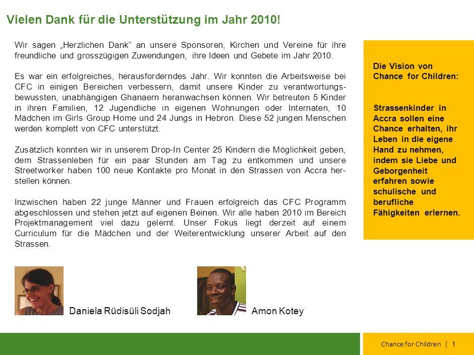 Jahresbericht 2 0 1 0 April, 2011