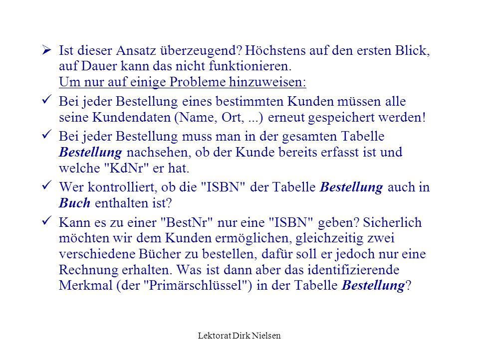 Lektorat Dirk Nielsen d r bestimmt d a, umgekehrt aber nicht, d.h.