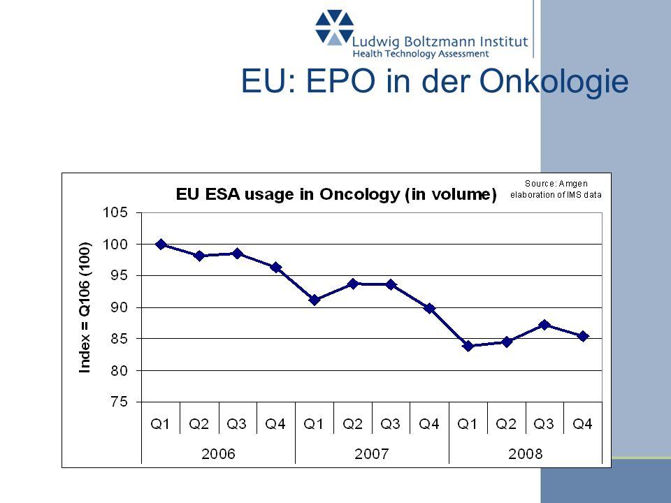 EU: EPO in der Onkologie