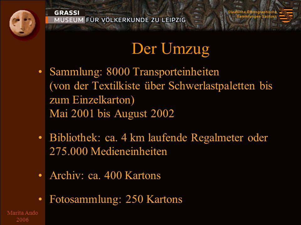Marita Ando 2006 Das Packen