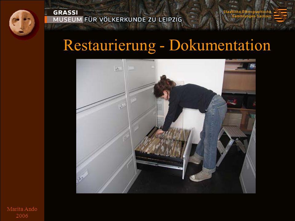 Marita Ando 2006 Textilmagazin Zwischenlagerung