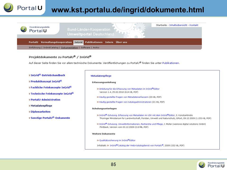 85 www.kst.portalu.de/ingrid/dokumente.html