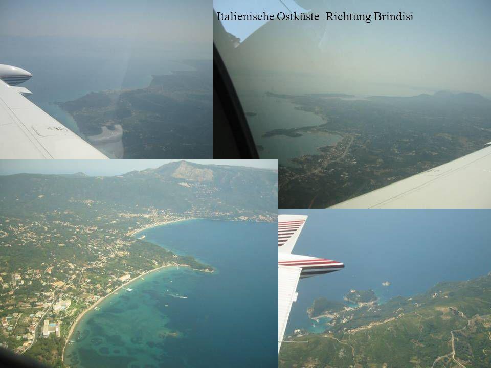 Italienische Ostküste Richtung Brindisi