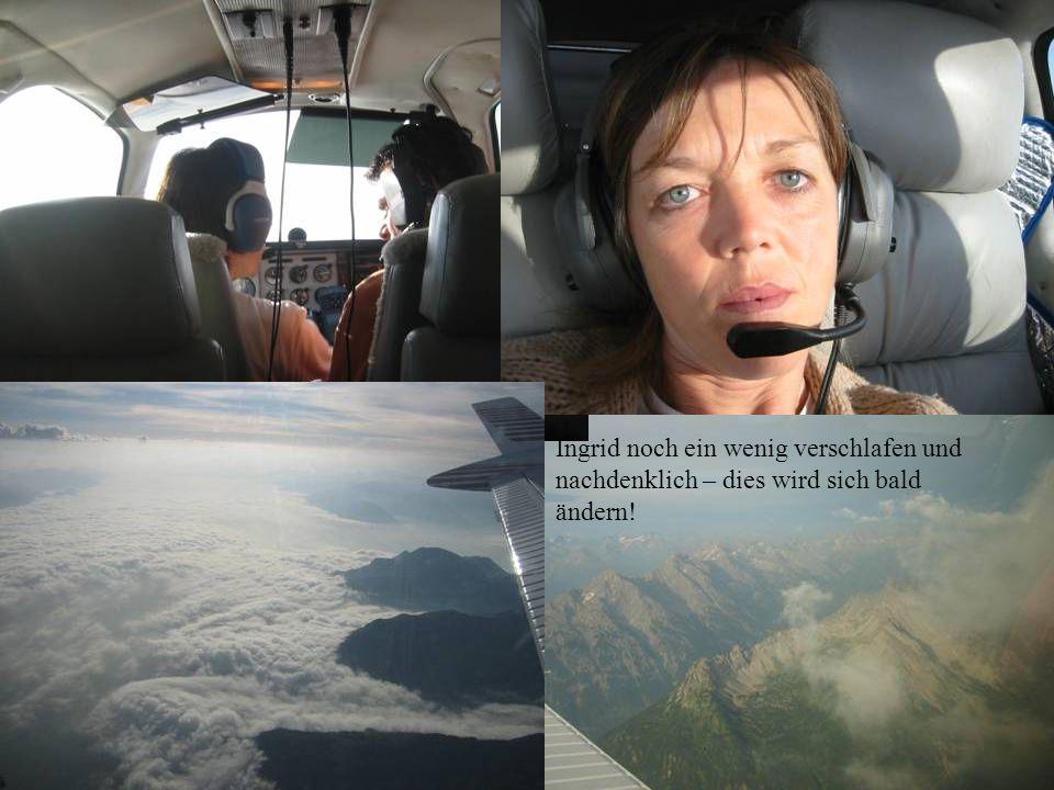 ...hinter uns die Alpen!
