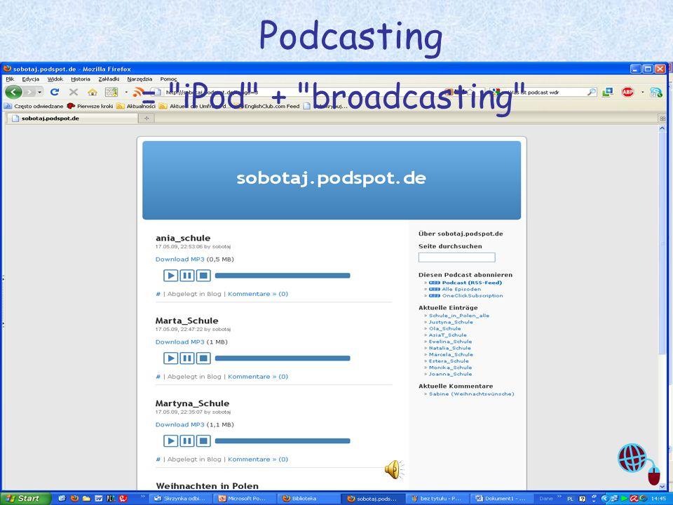 Justyna Sobota- Den Unterricht beleben mit Web2.0 10 Weblog