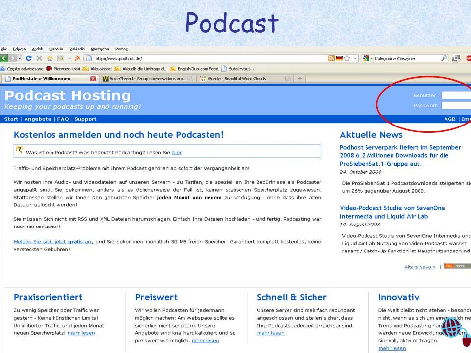 Justyna Sobota- Den Unterricht beleben mit Web2.0 13 Podcast