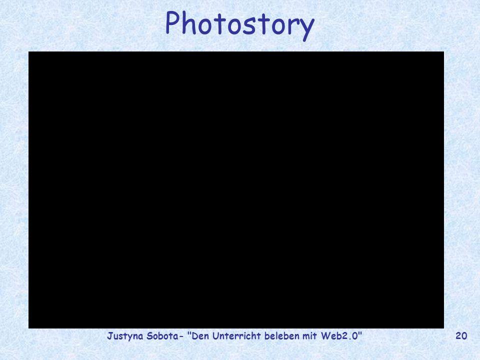 Justyna Sobota- Den Unterricht beleben mit Web2.0 19