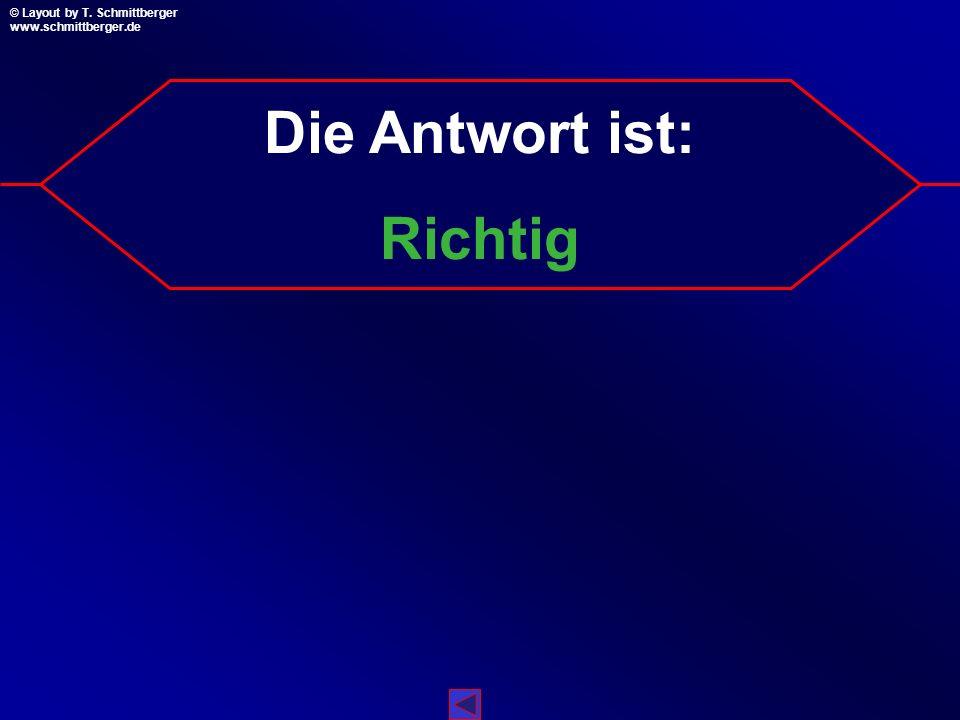 © Layout by T. Schmittberger www.schmittberger.de Layout by T. Schmittberger www.schmittberger.de A C B D 108 Sonderpunkt für dich!!! A A A A Richtig