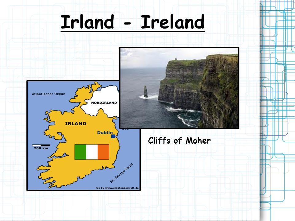 Irland - Ireland Cliffs of Moher