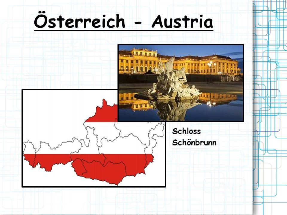 Österreich - Austria Schloss Schönbrunn
