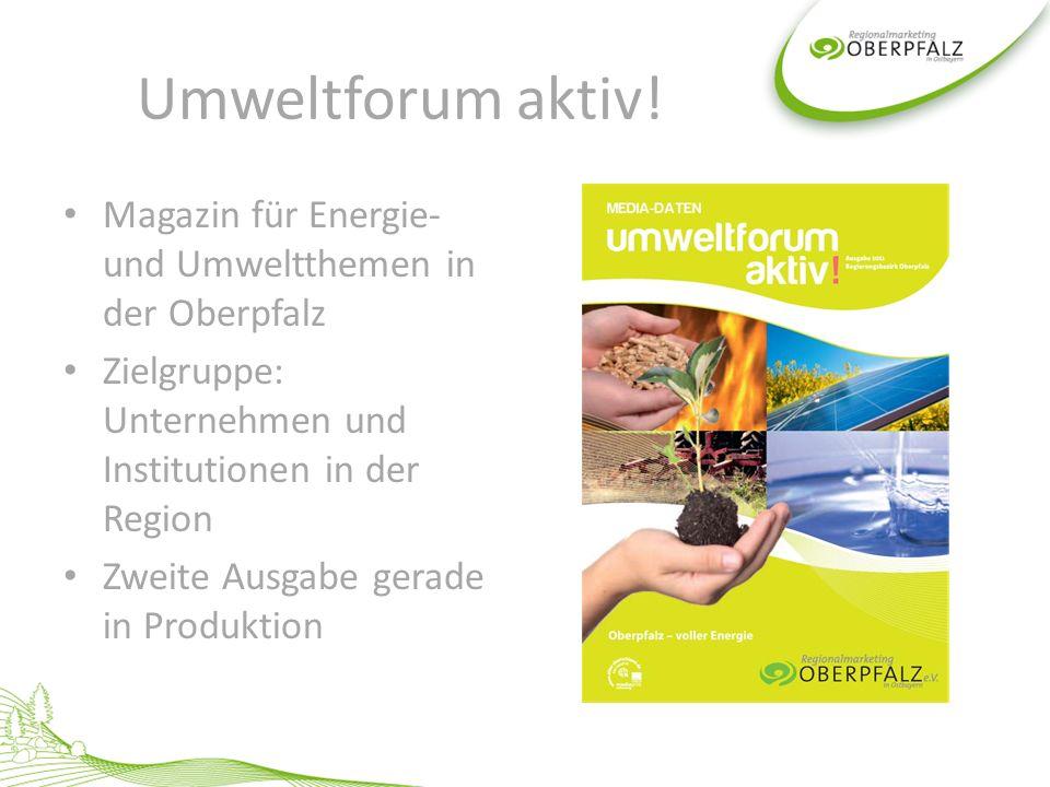 Schnittmenge zu anderen Aktivitäten Netzwerk Oberpfalz: Nachhaltigkeit bei Neumarkter Lammsbräu SZ-Beilage 2008 zum Wirtschaftsraum Oberpfalz SZ-Beilage 2011 zum Thema Fachkräfte