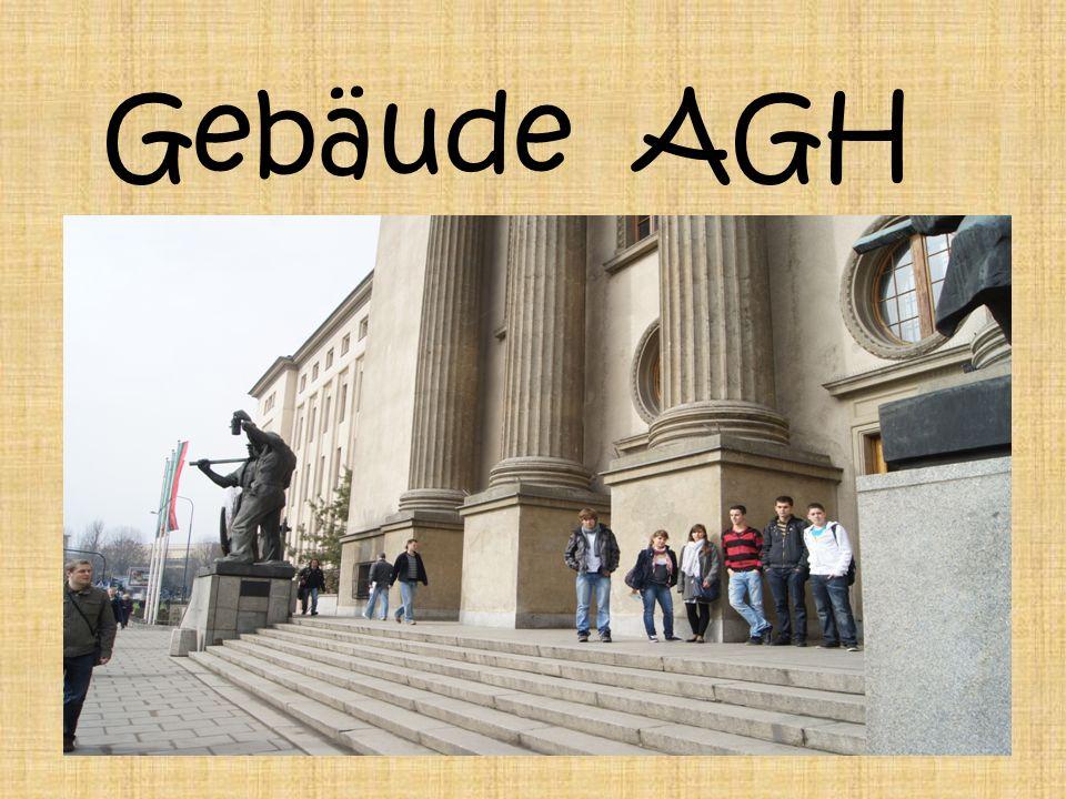 Während der Besatzung das Gebäude Agh der Sit der Regierung Generalgouvernement war