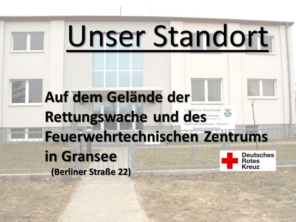 Unser Standort Auf dem Gelände der Rettungswache und des Feuerwehrtechnischen Zentrums in Gransee (Berliner Straße 22) (Berliner Straße 22)